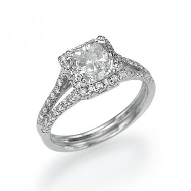 טבעת יהלומים יוקרתית- Royalty in Radiant