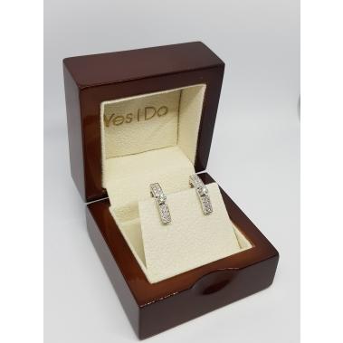 עגילי יהלומים מיוחדים- Prestige YD