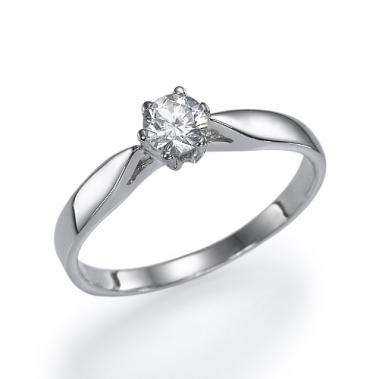טבעת יהלום סוליטר- Marvelous