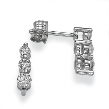 עגילי יהלומים דורות- Generations