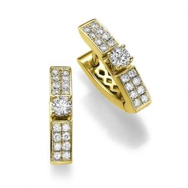 עגיל יהלומים מעוצב –  Prestige WD Earring