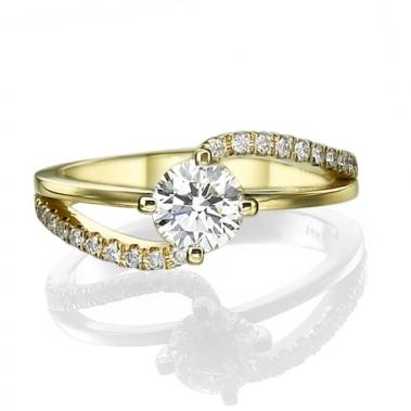 טבעת יהלומים טוויסט- Emotion 093Y