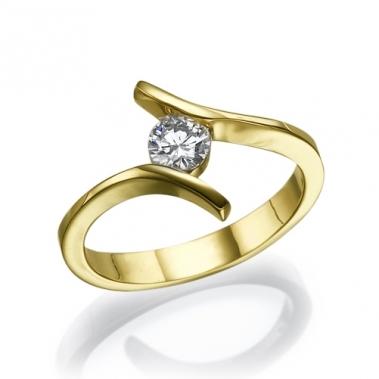 טבעת יהלום טוויסט- Endless Love