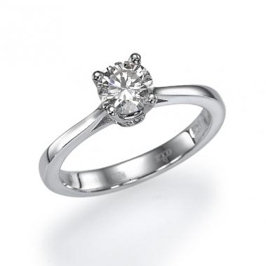 טבעת יהלום סוליטר- Romance 0.70w