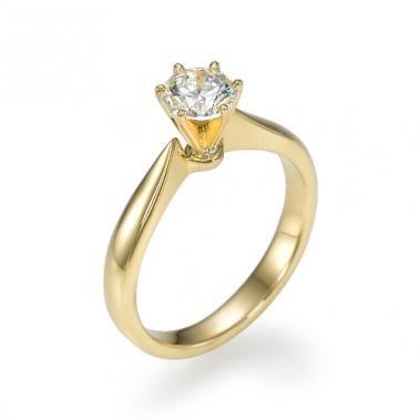 טבעת יהלום סוליטר- Venus