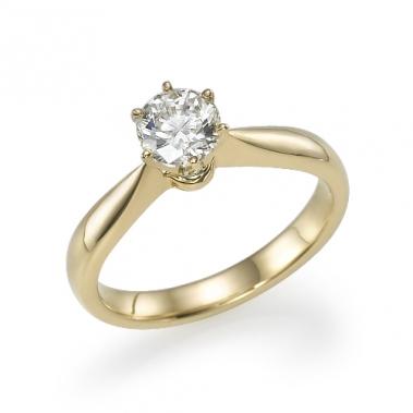 טבעת יהלום סוליטר- Venus 081y