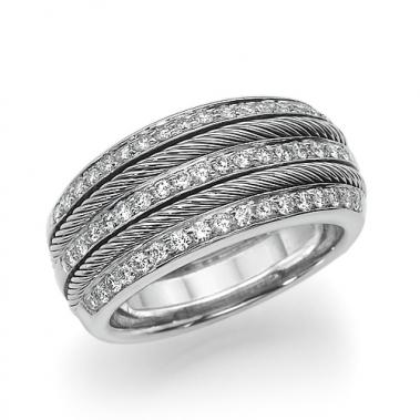 טבעת יהלומים- White Brides
